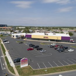 Aerial View of Planet Fitness in Dover, DE