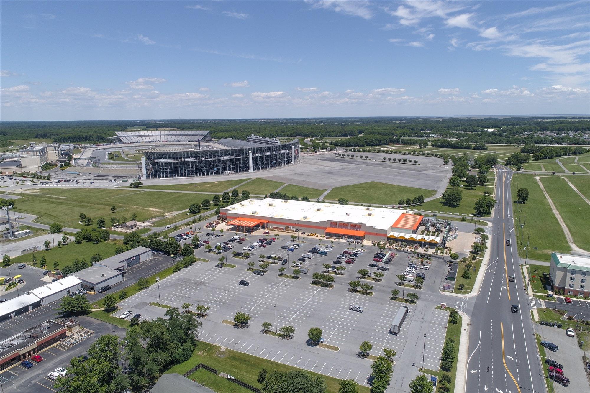 Home depot dover md de commercial development for Home depot de